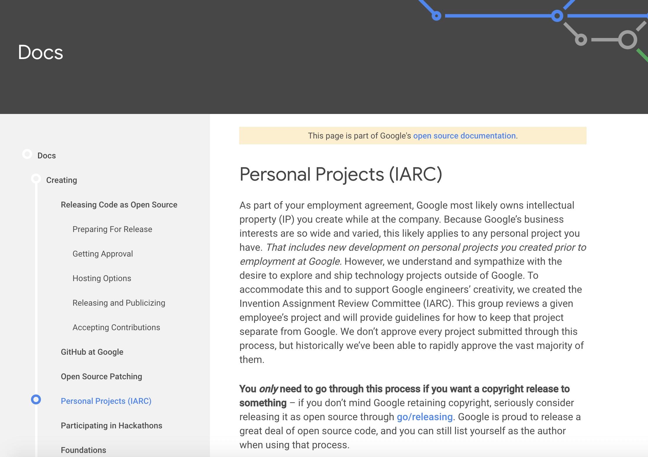 Nginx 之父被抓后,谷歌允许开发者上报个人项目,界定版权所属